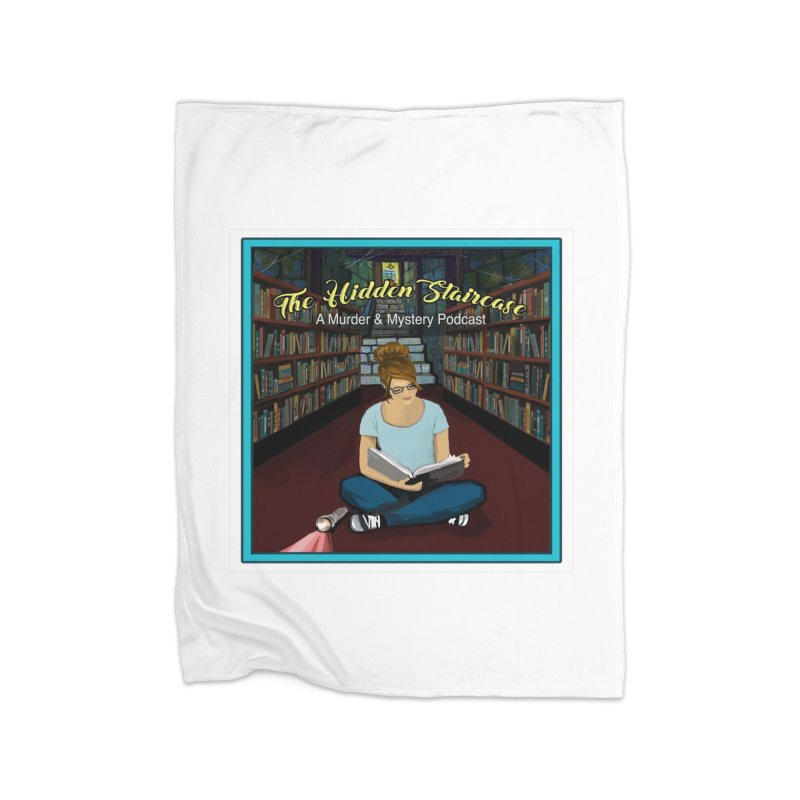 Reading Logo Home Fleece Blanket Blanket by The Hidden Staircase's Artist Shop