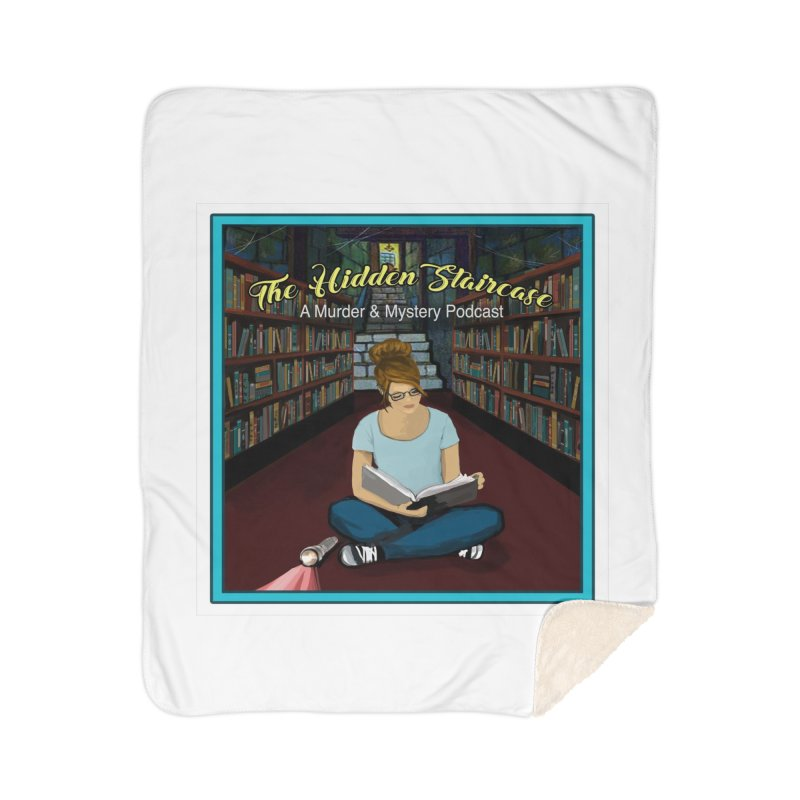 Reading Logo Home Sherpa Blanket Blanket by The Hidden Staircase's Artist Shop