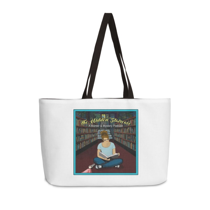 Reading Logo Accessories Weekender Bag Bag by The Hidden Staircase's Artist Shop