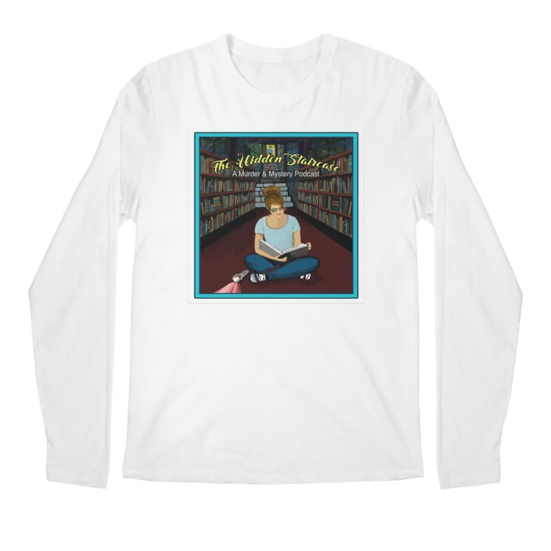 Reading Logo Men's Regular Longsleeve T-Shirt by The Hidden Staircase's Artist Shop