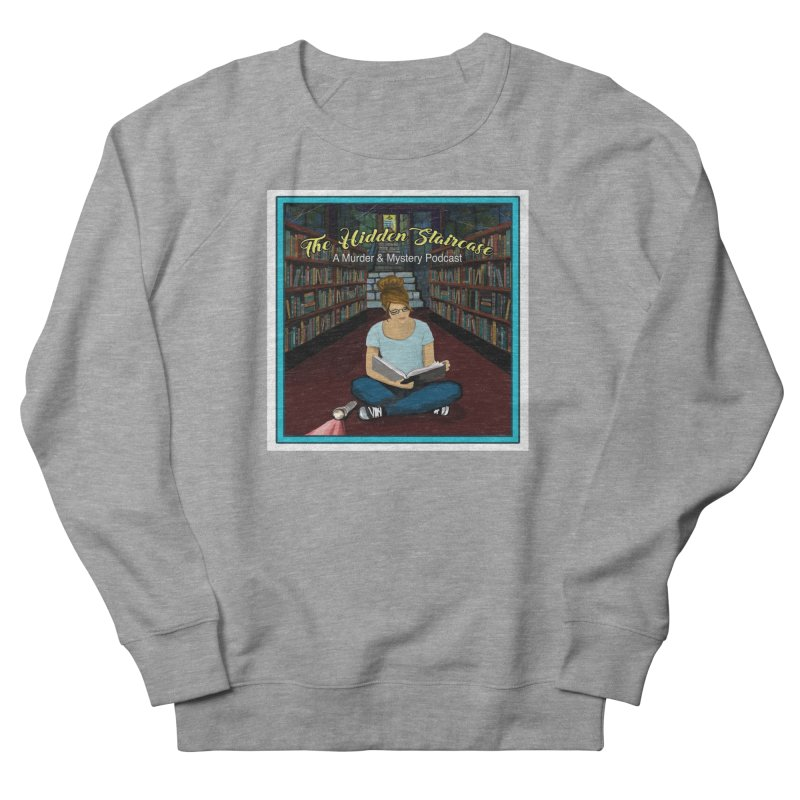 Reading Logo Men's French Terry Sweatshirt by The Hidden Staircase's Artist Shop