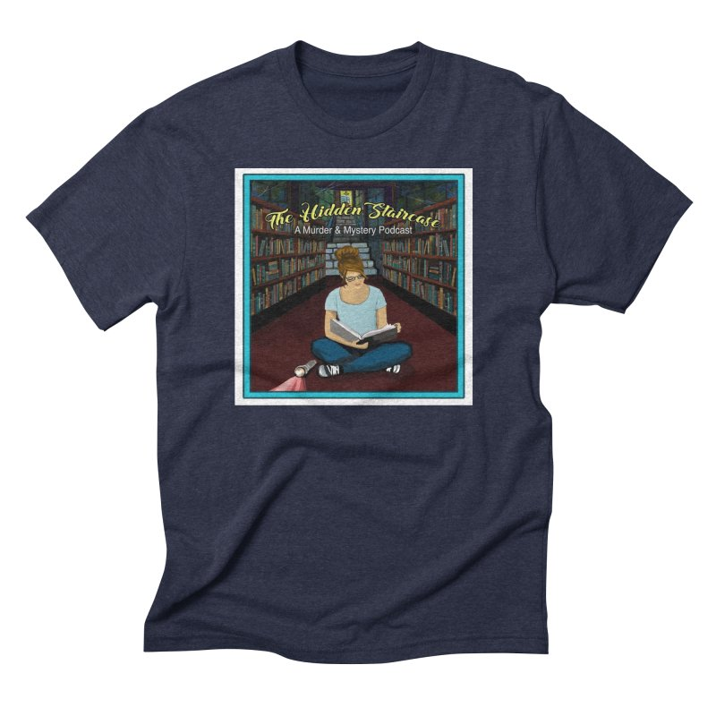 Reading Logo Men's Triblend T-Shirt by The Hidden Staircase's Artist Shop
