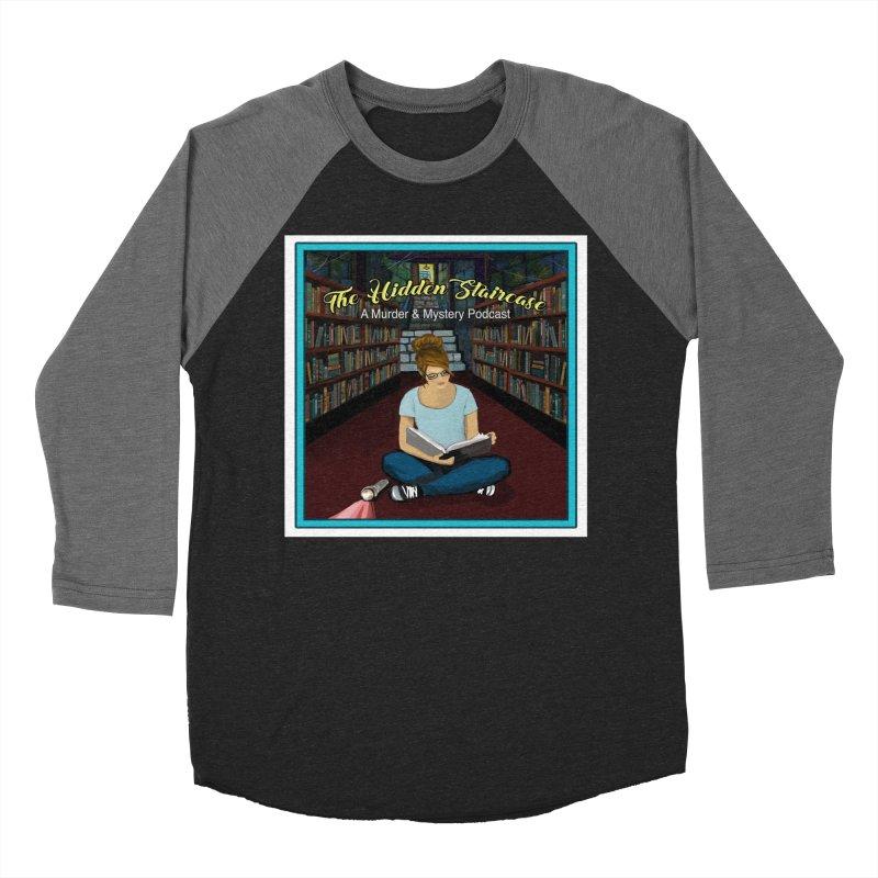 Reading Logo Men's Baseball Triblend Longsleeve T-Shirt by The Hidden Staircase's Artist Shop