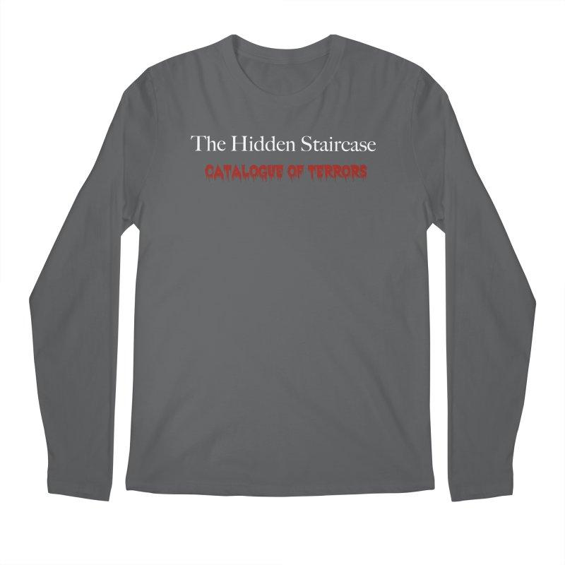 Catalogue of terrors Men's Longsleeve T-Shirt by The Hidden Staircase's Artist Shop
