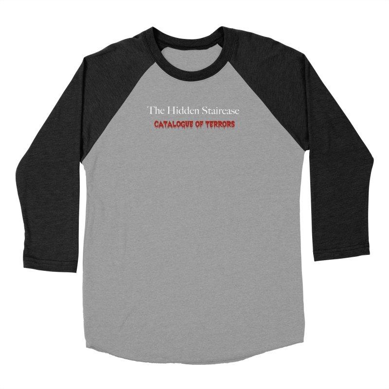 Catalogue of terrors Men's Baseball Triblend Longsleeve T-Shirt by The Hidden Staircase's Artist Shop