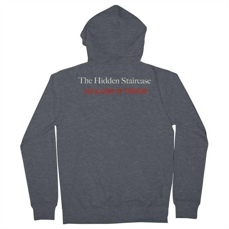 Catalogue of terrors Men's French Terry Zip-Up Hoody by The Hidden Staircase's Artist Shop