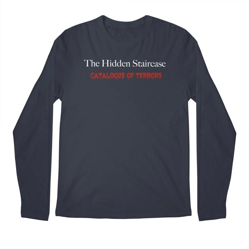 Catalogue of terrors Men's Regular Longsleeve T-Shirt by The Hidden Staircase's Artist Shop