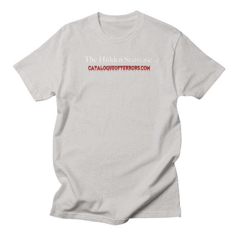 Catalogue of Terrors Website Men's T-Shirt by The Hidden Staircase's Artist Shop