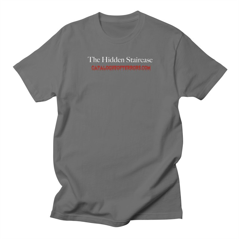 Catalogue of Terrors Website Men's T-Shirt by The Hidden Staircase's Artist Shop