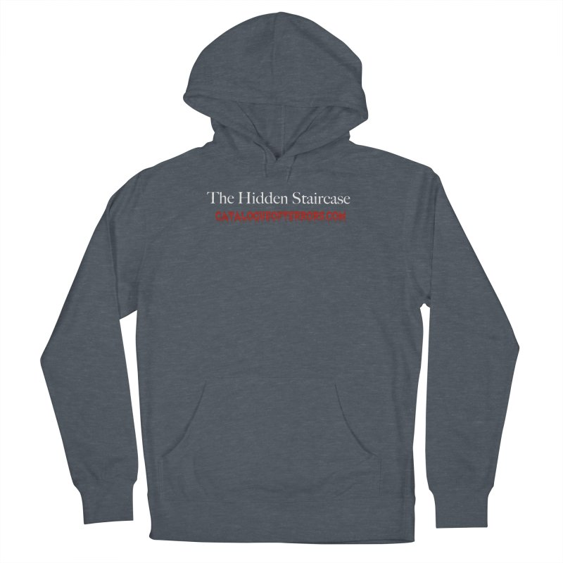 Catalogue of Terrors Website Men's French Terry Pullover Hoody by The Hidden Staircase's Artist Shop