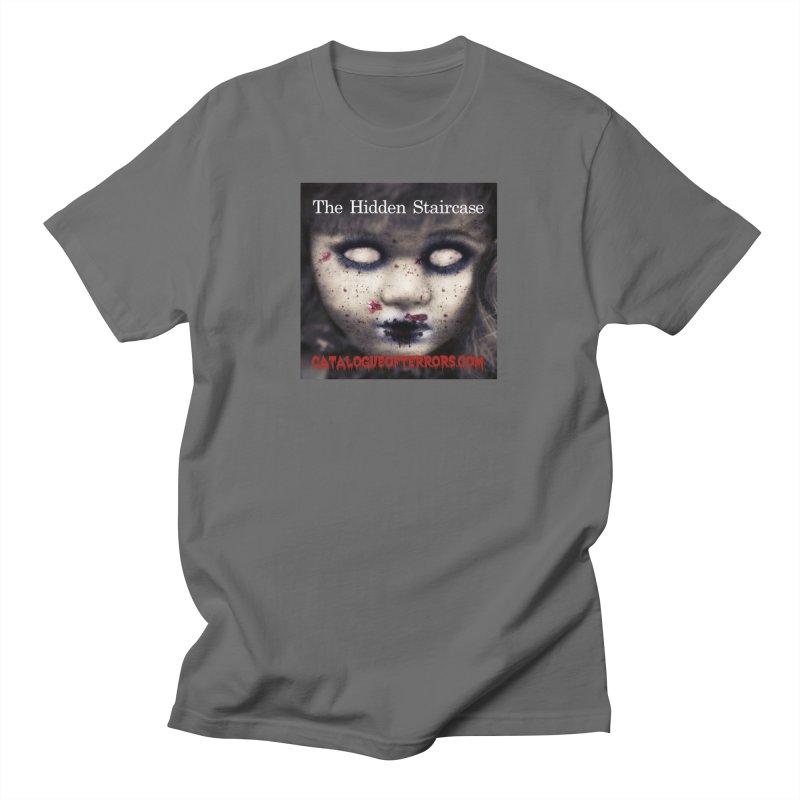 Catalogue of Terrors Artwork Men's T-Shirt by The Hidden Staircase's Artist Shop