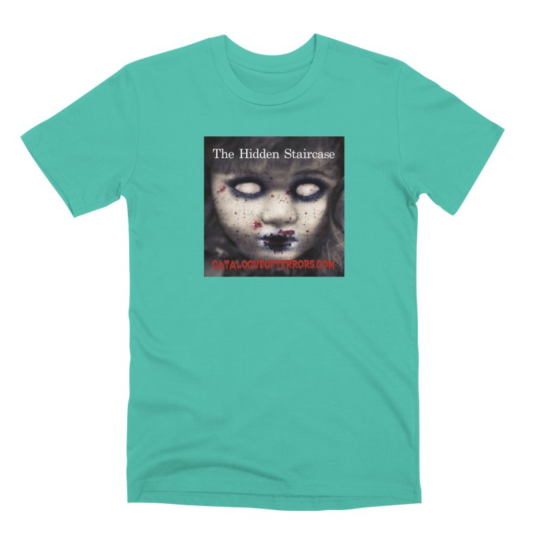 Catalogue of Terrors Artwork Men's Premium T-Shirt by The Hidden Staircase's Artist Shop