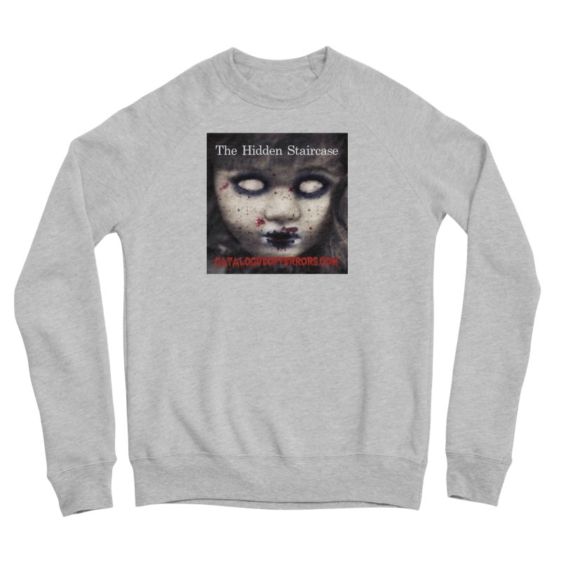 Catalogue of Terrors Artwork Men's Sponge Fleece Sweatshirt by The Hidden Staircase's Artist Shop