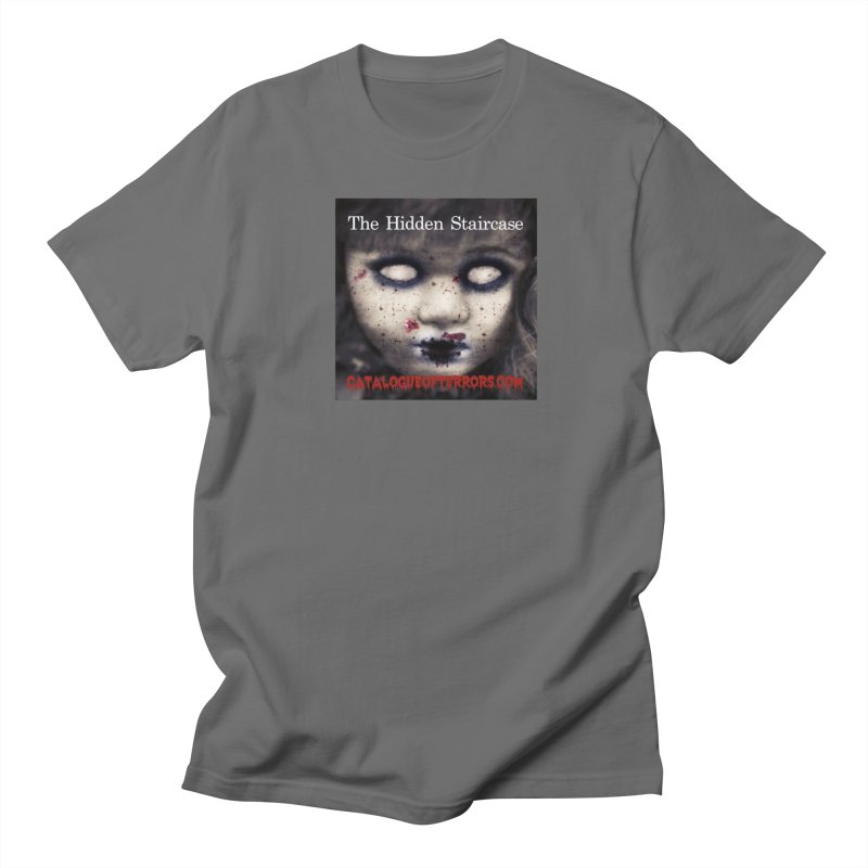 Catalogue of Terrors Artwork Men's T-Shirt by The Hidden Staircase's Artist Shop