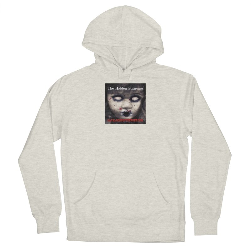 Catalogue of Terrors Artwork Men's Pullover Hoody by The Hidden Staircase's Artist Shop