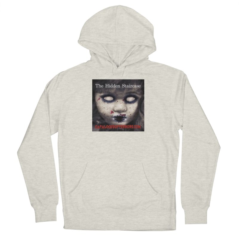 Catalogue of Terrors Artwork Men's French Terry Pullover Hoody by The Hidden Staircase's Artist Shop
