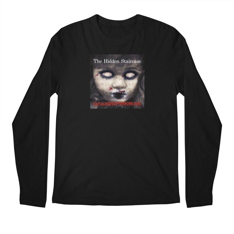 Catalogue of Terrors Artwork Men's Longsleeve T-Shirt by The Hidden Staircase's Artist Shop