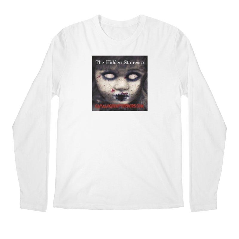 Catalogue of Terrors Artwork Men's Regular Longsleeve T-Shirt by The Hidden Staircase's Artist Shop