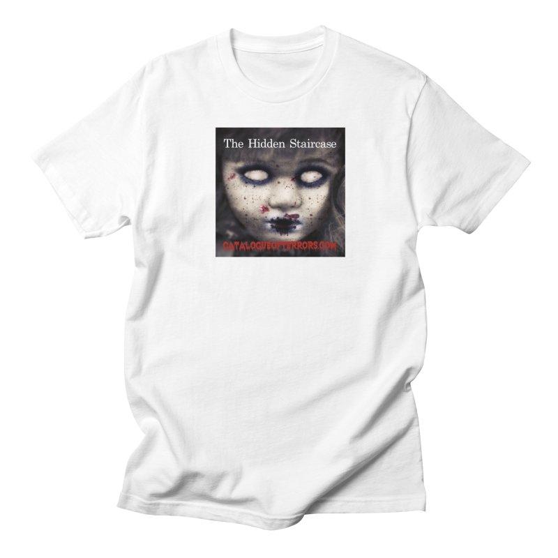 Catalogue of Terrors Artwork Men's Regular T-Shirt by The Hidden Staircase's Artist Shop