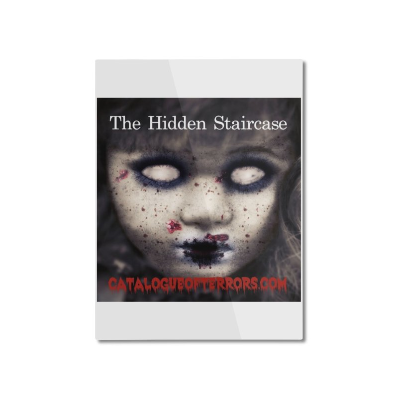 Catalogue of Terrors Artwork Home Mounted Aluminum Print by The Hidden Staircase's Artist Shop