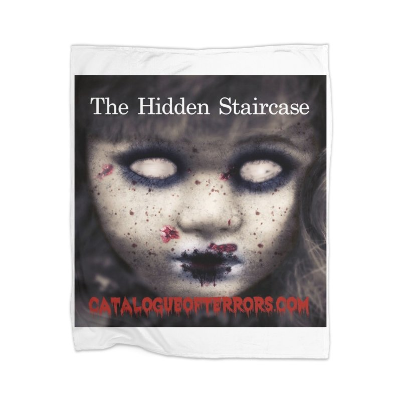 Catalogue of Terrors Artwork Home Blanket by The Hidden Staircase's Artist Shop