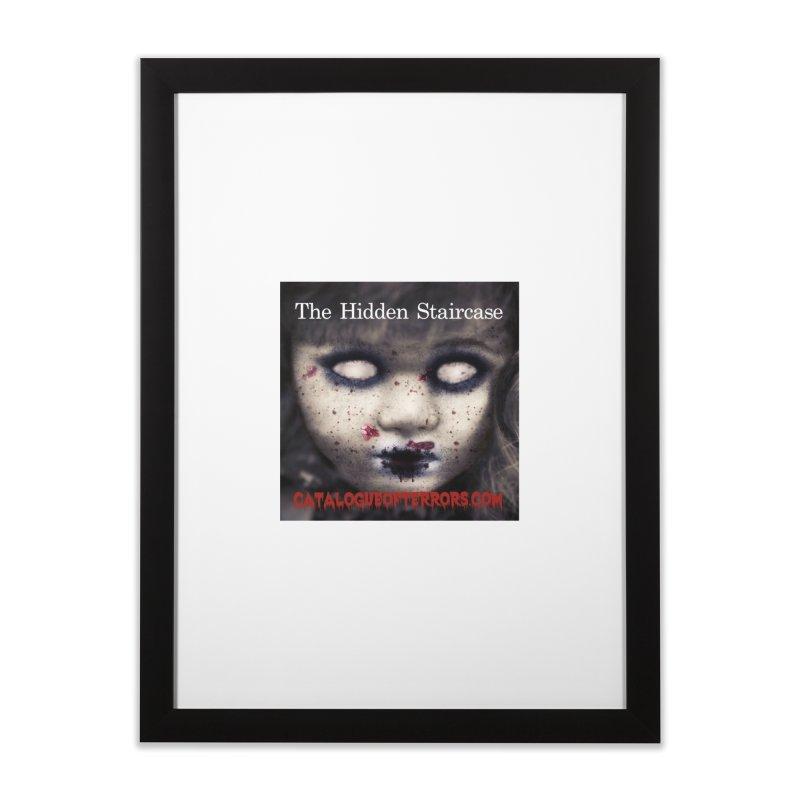 Catalogue of Terrors Artwork Home Framed Fine Art Print by The Hidden Staircase's Artist Shop