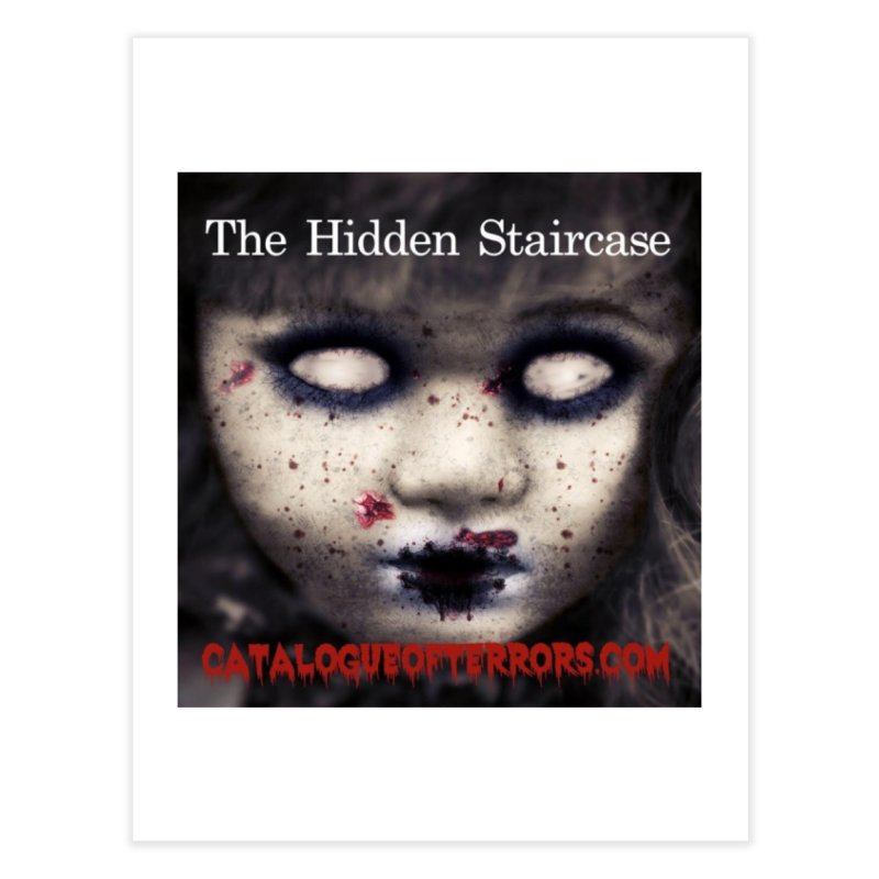 Catalogue of Terrors Artwork Home Fine Art Print by The Hidden Staircase's Artist Shop