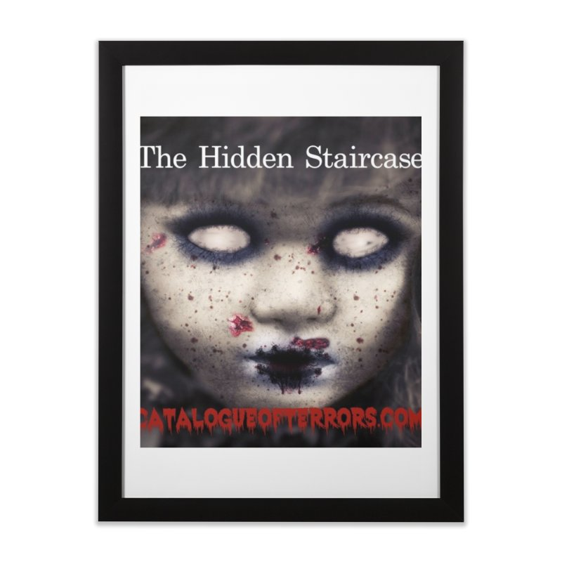 Catalogue of Terrors Artwork Home Framed Fine Art Print by The Hidden Staircase's Artist Shop