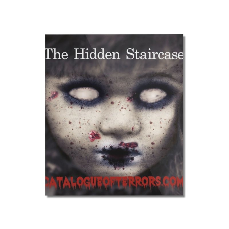 Catalogue of Terrors Artwork Home Mounted Acrylic Print by The Hidden Staircase's Artist Shop
