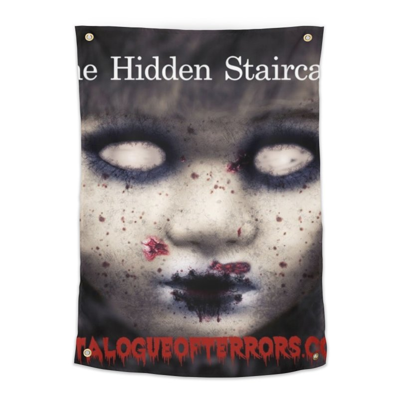 Catalogue of Terrors Artwork Home Tapestry by The Hidden Staircase's Artist Shop