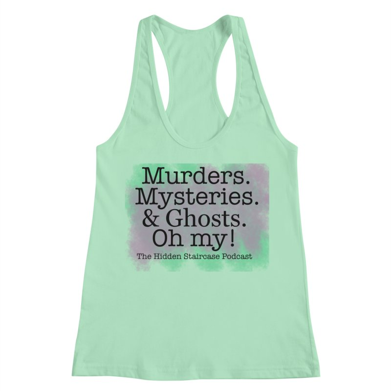 Oh my! Women's Racerback Tank by The Hidden Staircase's Artist Shop