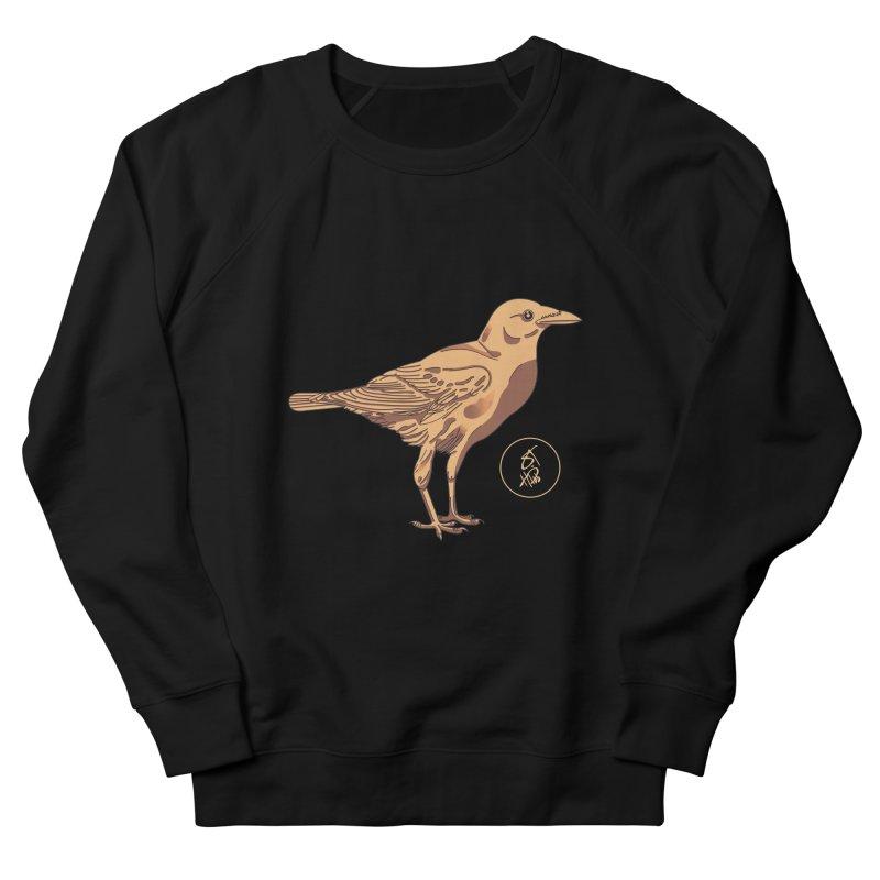 CROW(N) in Men's French Terry Sweatshirt Black by WESTHUS: SEASON I