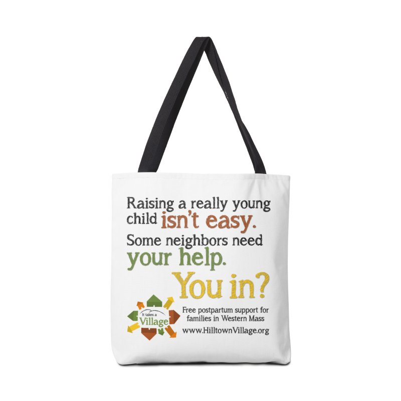 Tagline Accessories Bag by It Takes a Village's Shop