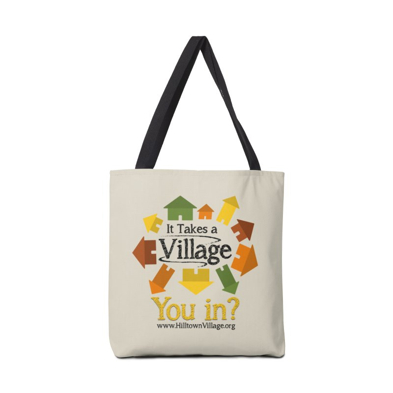 Logo You In? Accessories Bag by It Takes a Village's Shop