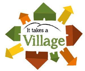 It Takes a Village's Shop Logo