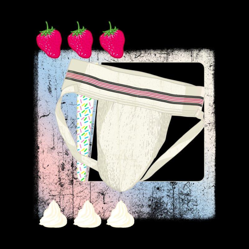 Jock breakfast Men's Pullover Hoody by Hoarse's Artist Shop