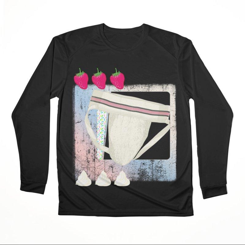 Jock breakfast Men's Longsleeve T-Shirt by Hoarse's Artist Shop