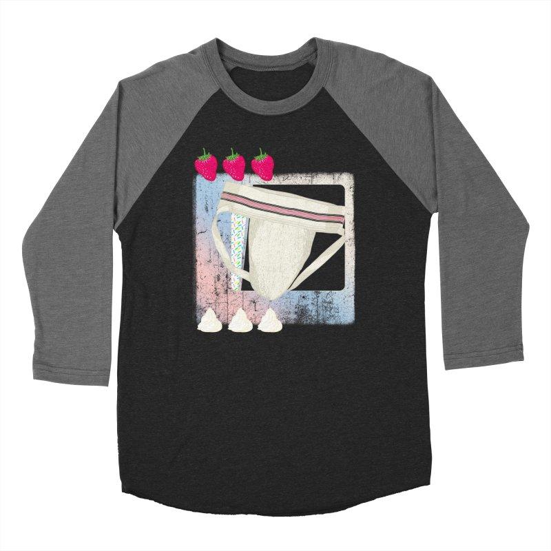 Jock breakfast Women's Longsleeve T-Shirt by Hoarse's Artist Shop