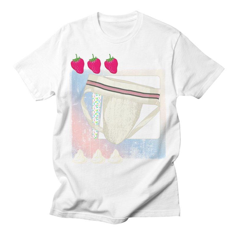 Jock breakfast Men's T-Shirt by Hoarse's Artist Shop