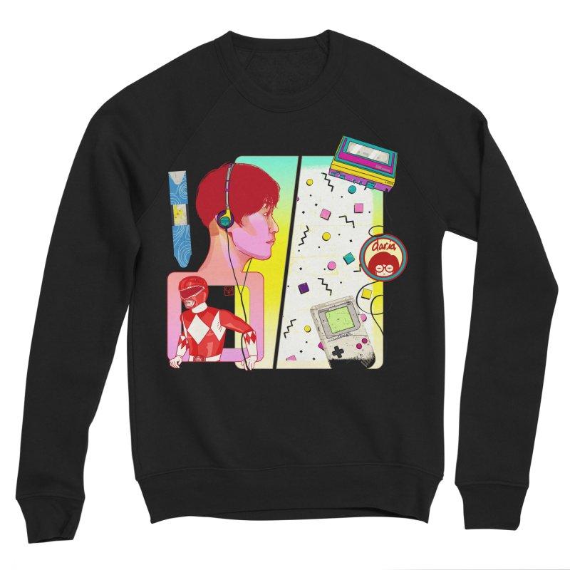Retro Women's Sweatshirt by Hoarse's Artist Shop