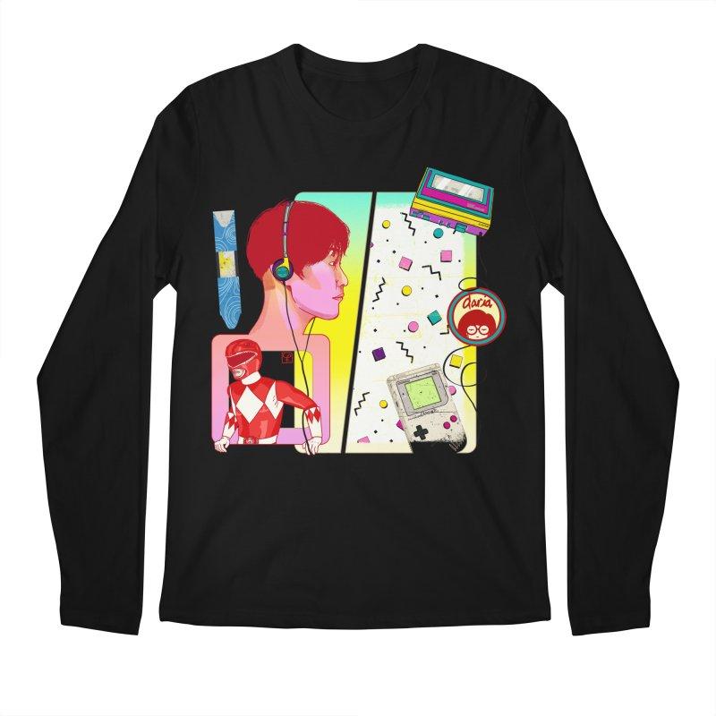 Retro Men's Longsleeve T-Shirt by Hoarse's Artist Shop