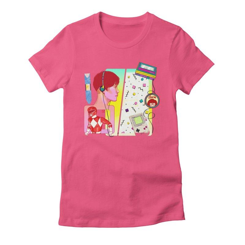 Retro Women's T-Shirt by Hoarse's Artist Shop