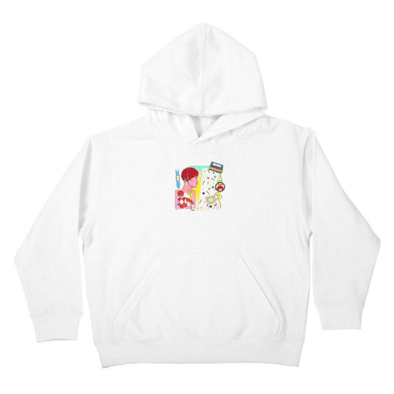 Retro Kids Pullover Hoody by Hoarse's Artist Shop