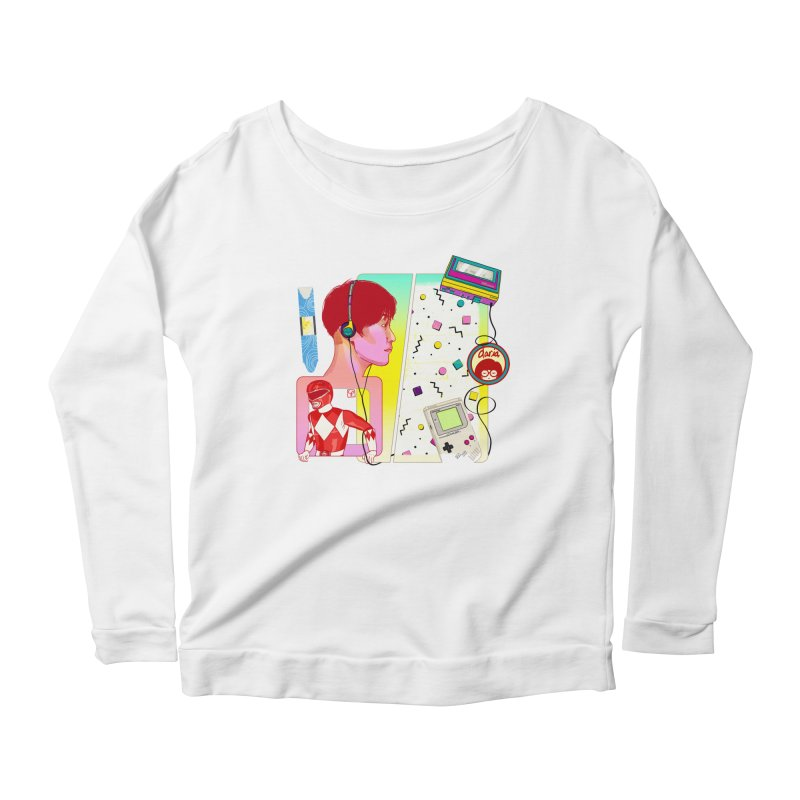 Retro Women's Longsleeve T-Shirt by Hoarse's Artist Shop