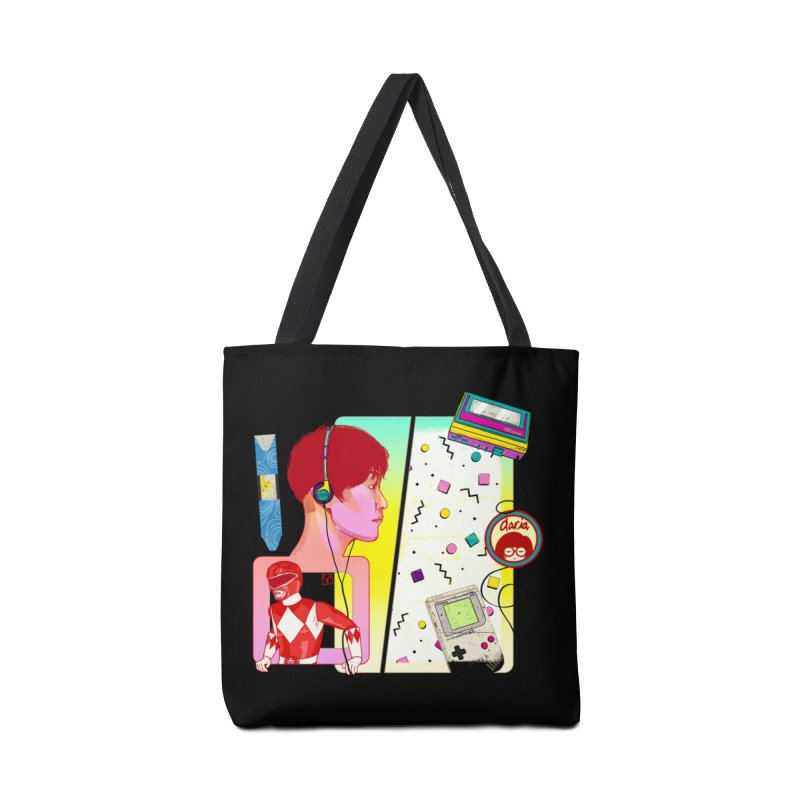 Retro Accessories Bag by Hoarse's Artist Shop