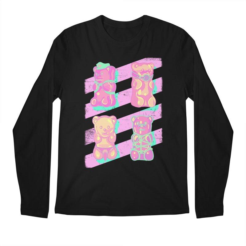 gummy bears Men's Longsleeve T-Shirt by Hoarse's Artist Shop