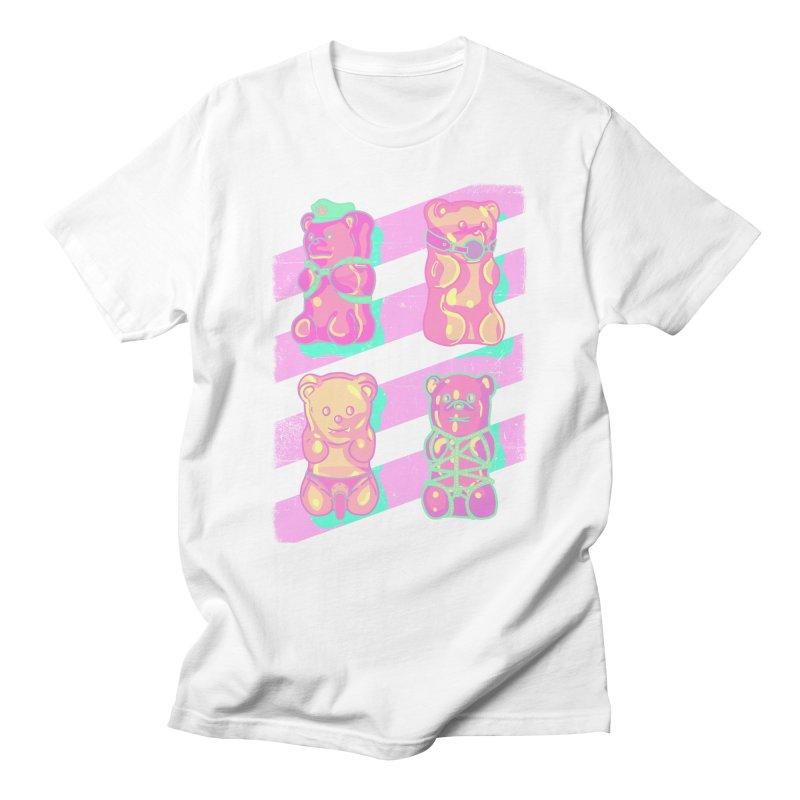 gummy bears Men's T-Shirt by Hoarse's Artist Shop