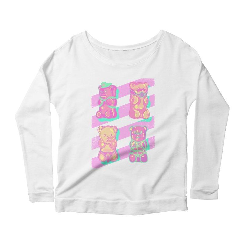 gummy bears Women's Longsleeve T-Shirt by Hoarse's Artist Shop
