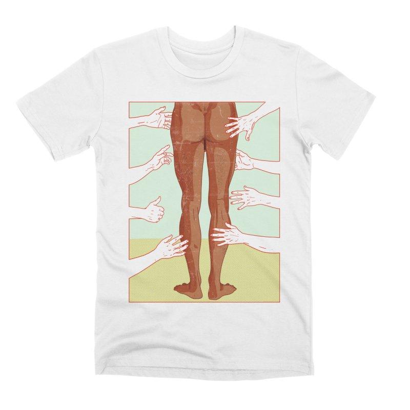 Grabby hands Men's T-Shirt by Hoarse's Artist Shop