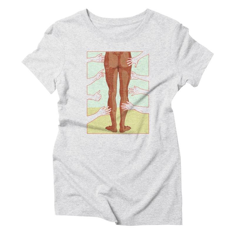 Grabby hands Women's T-Shirt by Hoarse's Artist Shop